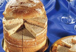 photo du produit de Noël Pain surprise «terre et mer»                                               (40 toast)