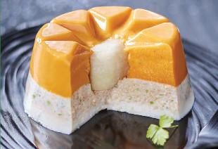 photo du produit de Noël Galantine de biche aux myrtilles                ( en tranches )