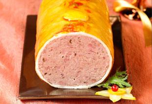 photo du produit de Noël Paté en croute de chevreuil aux champignons