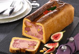 photo du produit de Noël Terrine de caille aux raisins