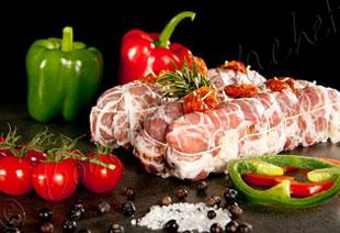 photo du produit de Noël Filet mignon de porc Aveyronnais                           ( Roquefort et noix )                                                                   (mini 3 personnes )