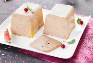 photo du produit de Noël Foie gras de canard garanti du sud ouest «MAISON»